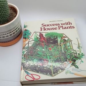 Vintage Success with House Plants readers digest